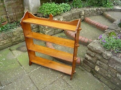 Antique Oak Bookshelves