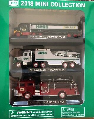 HESS MINI COLLECTION 2018 Truck Set *NEW!*