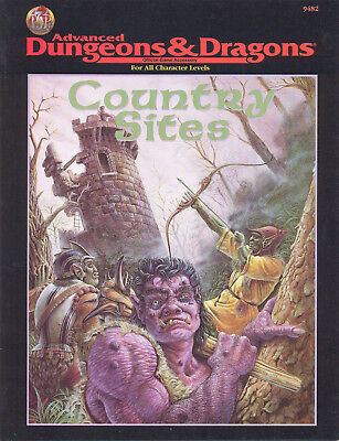 (AD&D) Advanced Dungeons & Dragons - COUNTRY SITES