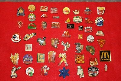 Lot 50 McDonalds  Pins