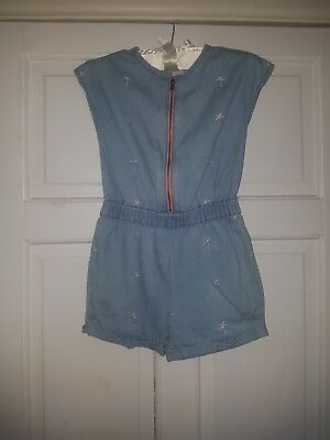 Next Girl 5-6, Denim playsuit