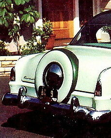 1954 Plymouth P-25 N.O.S. Continental Deck Lid Kit 1602232