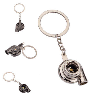 Creative Whistle Turbo Keychain Spinning Turbine Key Chain Ring Keyring Gift.