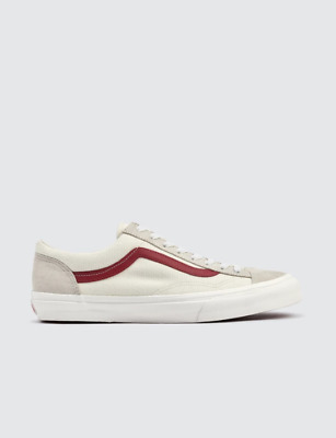 VANS STYLE 36 Shoes Marshmallow Racing Red G Dragon 100% Authentic ... c652be51e2