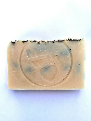 Goat's Milk, Honey And Oats ~Soap Bar ~🐝 100% Natural, No Sls ~