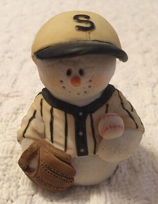 Sarah's Attic-- SNOWONDERS -  With Glove &  Ball  # 6405 -  WHITE SOX