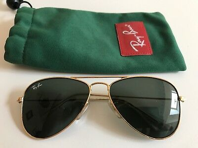 Ray-Ban Avaitor Junior  RJ9506S 223/71 GOLD/LENS GREEN Sunglasses