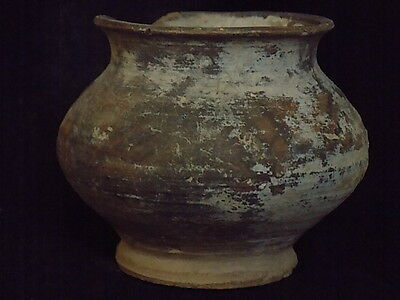 Ancient Teracotta Painted Pot Indus Valley 2500 BC No Reserve #S8525