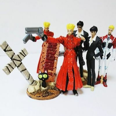 Trigun Real Figure Collection 6 sets