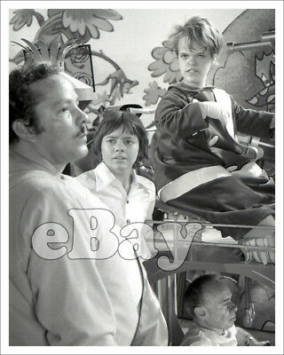 Rare! H.R. PUFNSTUF 8 X10 TV Photo SID & MARTY KROFFT Behind the Scenes #1