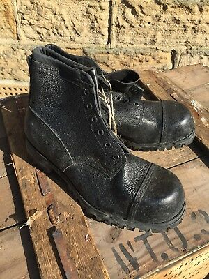 British Army Ithside Commando Ammo Boots 1952 Size 7