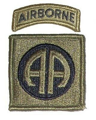 US ARMY 82nd Airborne Division OCP OEF Multicam Scorpion Uniform UCP Klett patch
