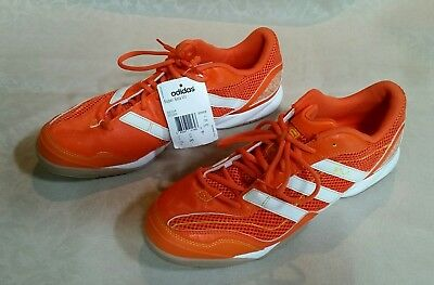 3879a5bc2c2 ... denmark adidas super sala vii indoor soccer shoes orange white mens  11.5 new with tag df749