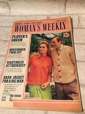 15th July 1967 Womans Weekly Magazine Knitting Patterns 199