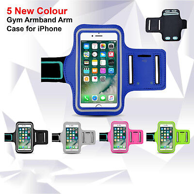 Sports Gym Armband Arm Case Running Exercise for Apple iPhone 8 7 X 6S Plus