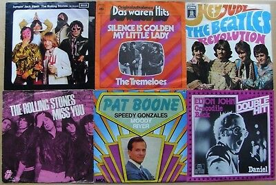 SAMMLUNG The Beatles★The Tremeloes★The Rolling Stones★Elton John★Pat Boone