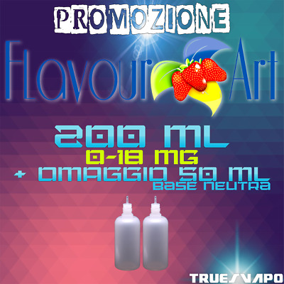 100ml X 2pz | Liquido5050 per sigaretta elettronica 0-18mg (50ml NEUTRO OMAGGIO)