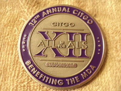 Challenge Coin, CITGO All In For ALS, Mountain Commercial Graphics, 2016