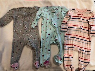 Just one you by Carters 9m & Gap Baby Girl 6-9m Footed One Piece