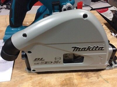 "Makita XPS01Z 36v 18v X2 LXT Brushless 6-1/2"" Plunge Track Saw (Tool Only) New"