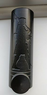 Engraved with a Piper  Highland Bagpipe Chanter Reed Protector