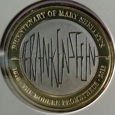 2018 Mary Shelley's Frankenstein £2 Brilliant Uncirculated Royal Mint BU Coin