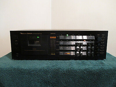 NAKAMICHI DRAGON Audiophile Stereo Cassette Deck (For Parts or Repair)