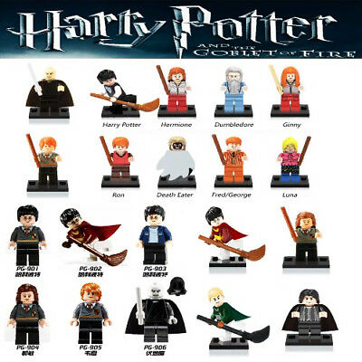 Action Figures Harry Potter Hermione Granger Ron Voldemort Building Blocks Toys