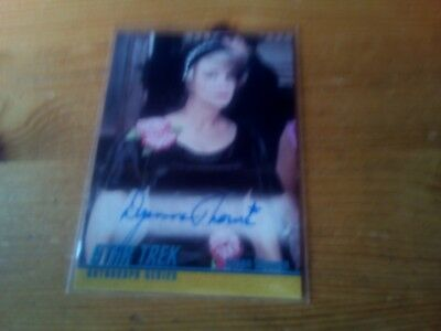 Star Trek The Original Series Heroes & Villains Autograph Card Of Dyanne Thorne