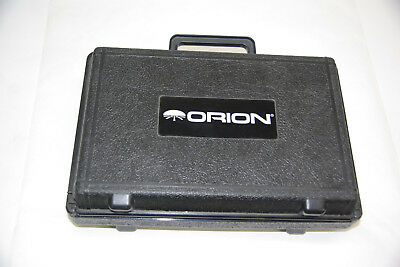 Orion Explorer II Telescope eyepieces, filters, Barlow lens and padded case