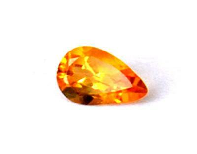 Perfect Pear Cut Stone Natural Flawless Citrine 5X8 Mm Loose Gemstone #1071
