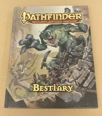 Pathfinder Roleplaying Game Bestiary Hardback Roleplaying Book
