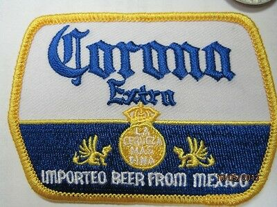 Beer Patch Corona Extra, Look And Buy Now!! Crest Size*