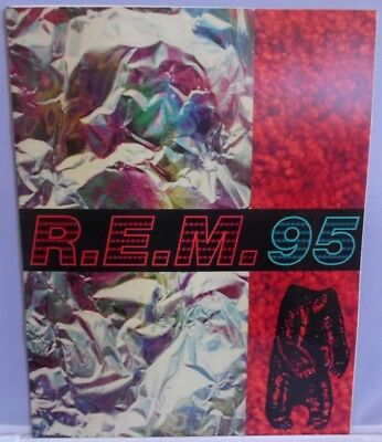 R.E.M. 1995 Tour Program With Review Articles Anaheim Concerts in California REM