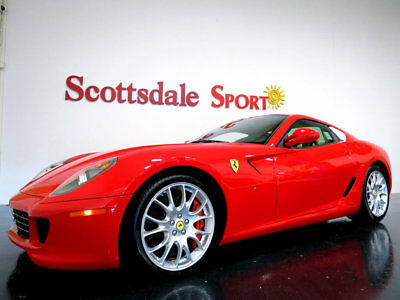 Ferrari 599 GTB FIORANO * ONLY 8,750 Miles...Exceptional 599 07 FERRARI 599 GTB * ONLY 8K MILES * GIANT FACTORY OPTIONS * TUBI EXHAUST