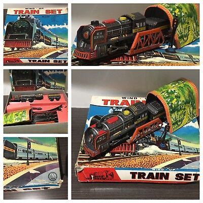 Japanese O gauge  Tinplate Train set Fuji Toys suit Bandai Yonezowa layout