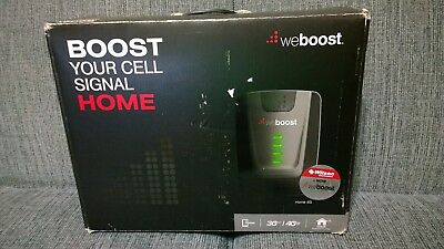 Weboost Home 4G  | 470101 | Cellular Signal Booster | Black/grey/white