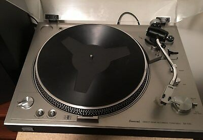 Sansui SR-535 Direct Drive Turntable
