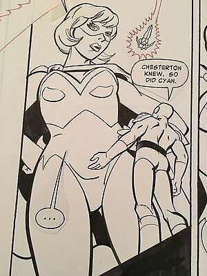 Young Heroes in Love #13 p15 (1998) Madan/Champagne - Good Girl Art / Cheesecake