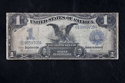 $1 1899 Black Eagle Large silver certificate D19959705A Fr#233 FREE SHIPPING