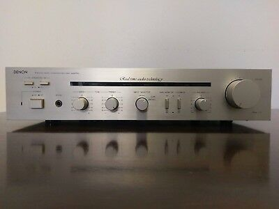 Denon Pma-717 Classic Audiophile Amplifier Fully Serviced And Upgraded
