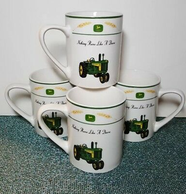 4 JOHN DEERE AMBER WAVES MUGS- Gibson Designs.