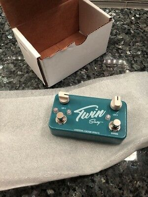 Lovepedal Twin Sixty Effect Pedal Dual Clean Boost 2017 Blue NEW