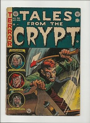 Tales from the Crypt 38 (1953) - Golden Age E.C. Horror!