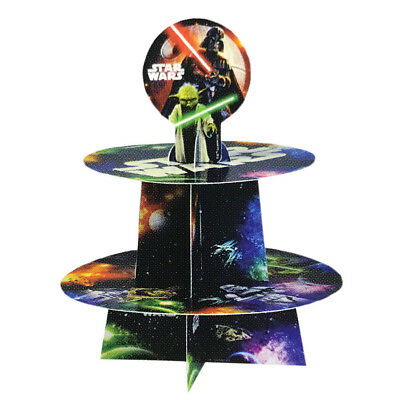 Star Wars Party Supplies Cupcake Stand Birthday Party Table Decoration Supplies