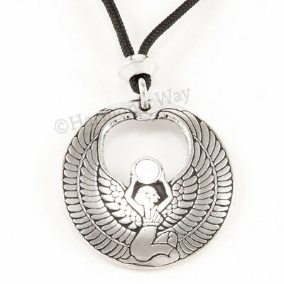 ISIS Necklace GODDESS Pendant Amulet EGYPTIAN Jewelry