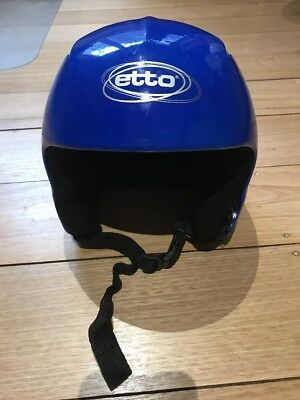 Awesome Etto Norwegian Brand Ski Snowboard Helmet Size 56cm S ,Ex Condition