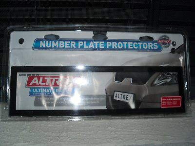 Personalised Plate Covers Slimline Front And Standard Back Excellent Cond