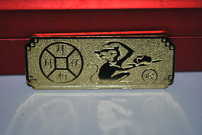 Exquisite collection of Chinese Zodiac monkey alloy commemorative coins