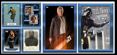 Topps Star Wars Card Trader Father's Day 2018 Variant [Complete Set 6 Cards]